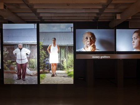 Sue Williamson, There's Something I Must Tell you, 2013. Multi-screen video installation.