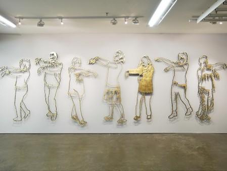 Brett Murray, Again Again, 2015. Installation view: Goodman Gallery