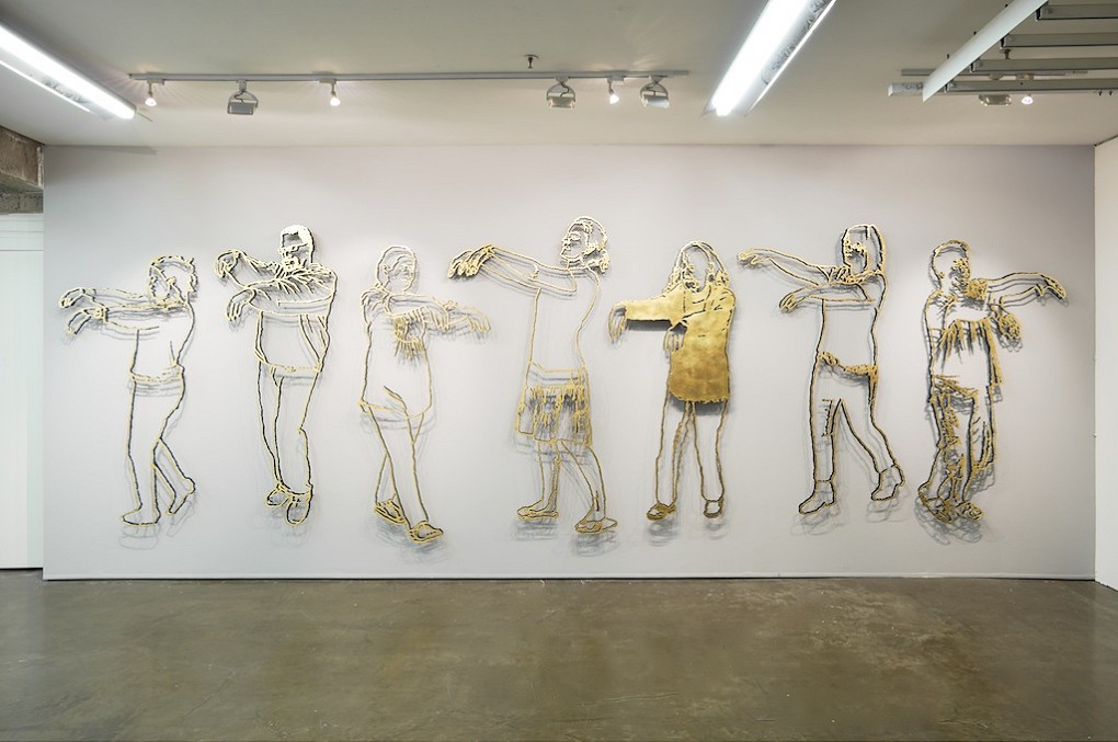 Brett Murray, Again Again, 2015. Installation view: Goodman Gallery