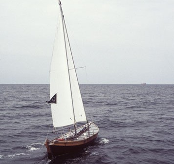 Chris Burden, Ghost Ship, 2005