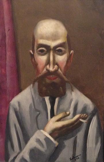 Max Beckmann Portrait of a Turk, 1926. Oil on canvas,  67,3 x 45 cm