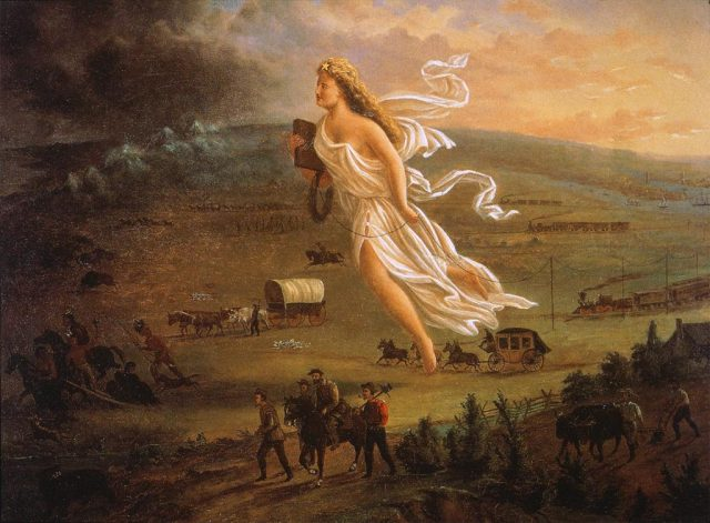 John Gast, American Progress, 1872