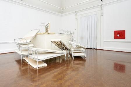 Turiya Magadlela, Umudiyadiya, 2015. Installation view: Johannesburg Art Gallery