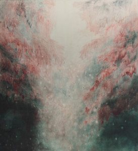 Alexia Vogel <i>Wander</i> (2015), Oil on canvas. 2002 x 2194 mm
