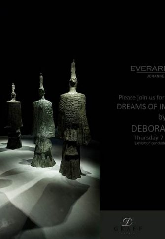 Deborah Bell, Dreams of Immortality, 2015, Exhibition Invitation