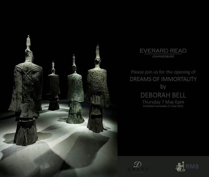 Deborah Bell, Dreams of Immortality, 2015, Exhibition Invitation