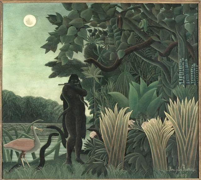 Henri Rousseau <i>The Snake Charmer</i> (1907) Oil on canvas