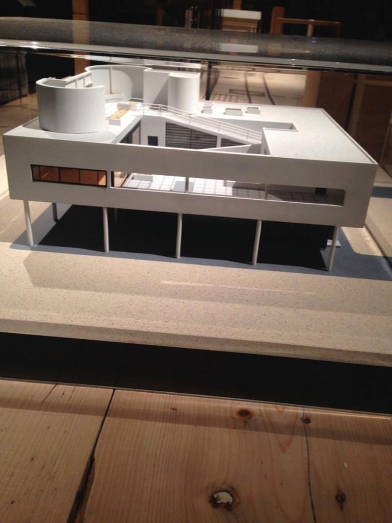Le Corbusier , ( 1887- 1965) , <i>Poissy, Villa Savoye</i> Wooden scale model.