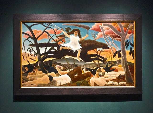 Henri Rousseau <i>La Guerre-La Chevauchee de la Discorde</i> (1894)  Oil on canvas