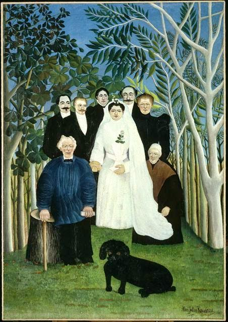 Henri Rousseau <i>A Country Wedding</i> (1904-1905) Oil on canvas