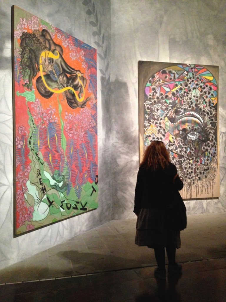 Chris Ofili Installation View