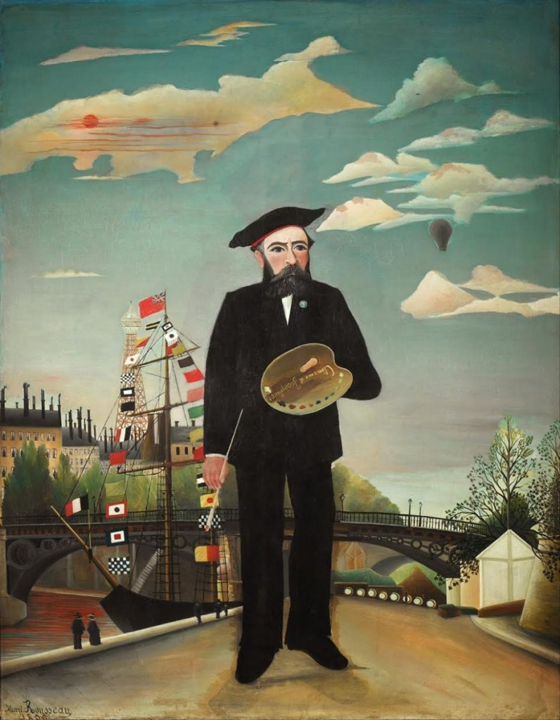 Henri Rousseau <i>Myself, Portrait-Landscape</i> (1889-90) Oil on Canvas