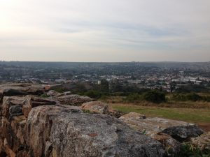 Grahamstown from Fort Selwyn, 2015