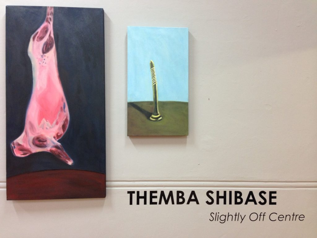 Themba Shibase, Slightly Off Centre, 2015, installation view