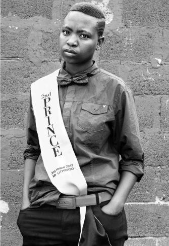 Zanele Muholi, Collen Mfazwe, August House, Johannesburg, 2012. Silver gelatin photograph, 86.5 x 60.5 cm