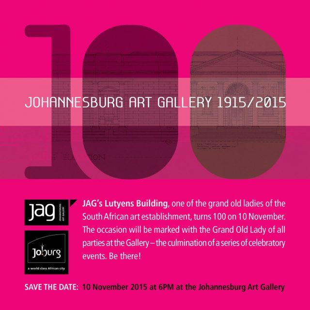 JAG Centenary, 2015