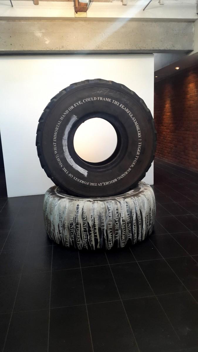 Kendell Geers at Goodman Gallery