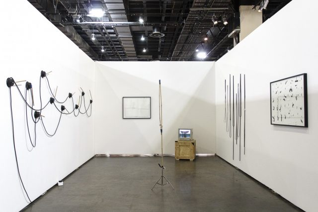 Jared Ginsburg, 'Two Ends of a Line', 2015, Installation view, FNB Joburg Art Fair