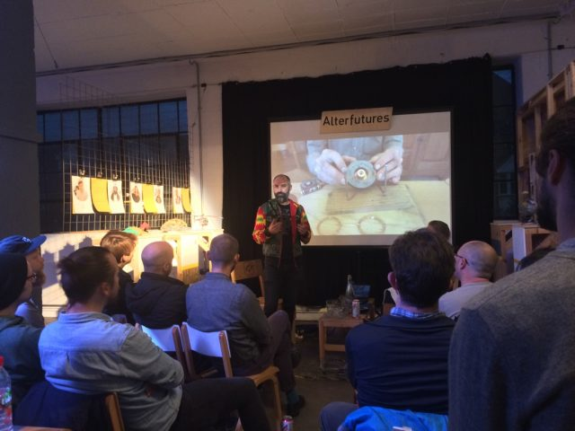 Ralph Borland, 'African Robots'. Talk at Machines Room, London.