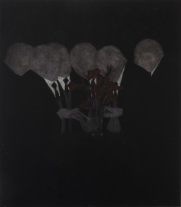 Cinga Samson, <i>Bestow: to confer or present (an honour, right, or gift) 6</i>, 2015. Oil on canvas, 114 x 90 cm