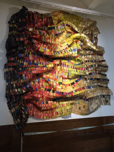 El Anatsui, Fresh and Fading Memories (2007). BASMOCA, Kingdom of Saudi Arabia, Special Project 1:54 London