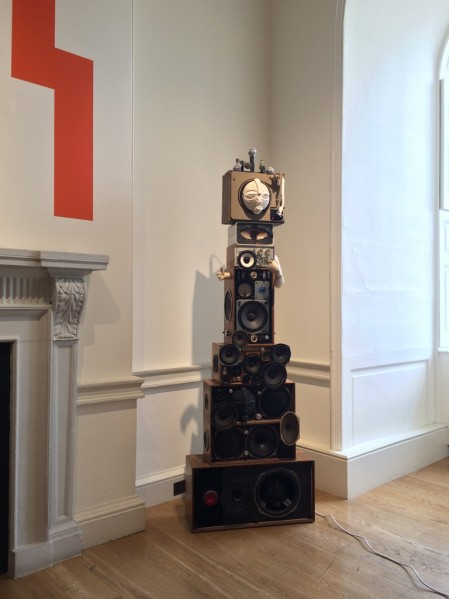 Zak Ové, The Upsetters: King and Queen (2013). Vigo Gallery, London in the 1:54 Main Entrance Hall