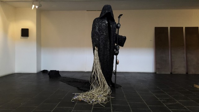 Maurice Mbikayi at the AVA Gallery