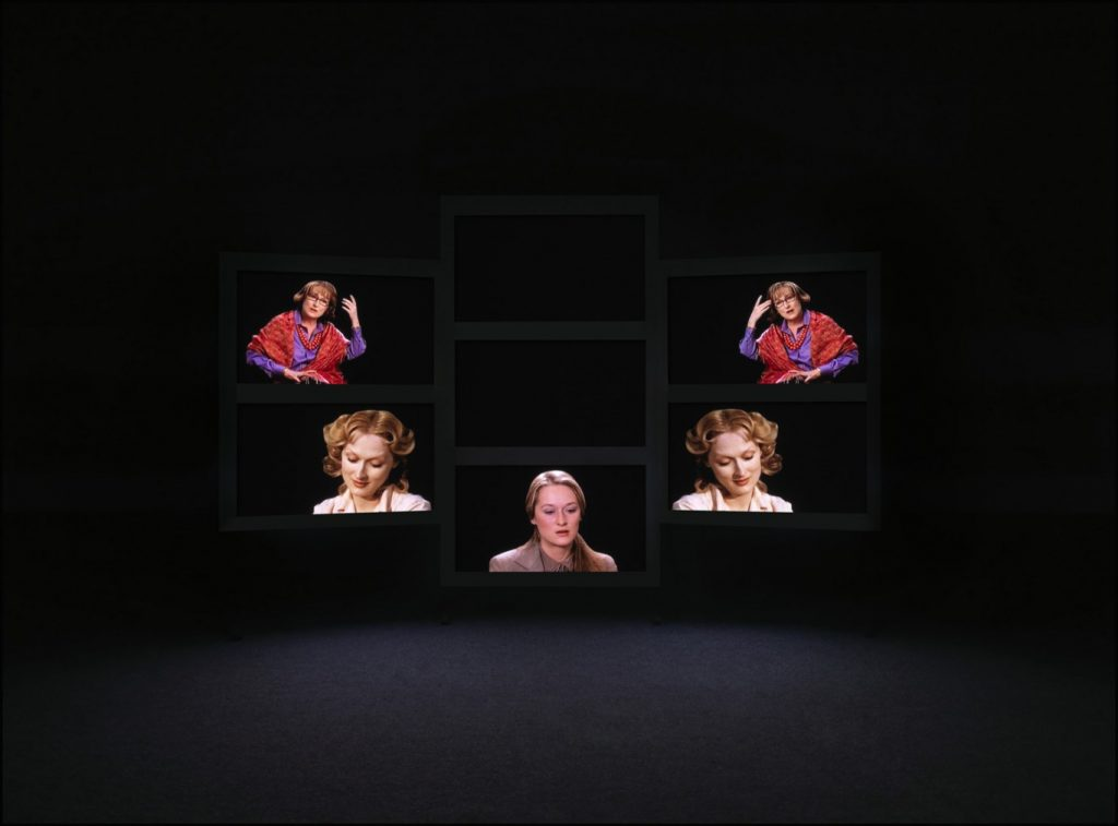 Candice Breitz, Her,1978-2008. Seven-Channel installation Duration: 23 minutes, 56 seconds