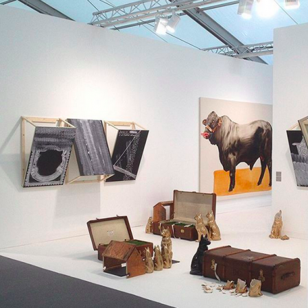 Stevenson Gallery at Frieze London 2015 (Image Courtesy stevenson_za Instagram)