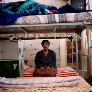 Jodi Bieber Marie Dlamini, sentenced 15 years for murder 2005, from the 'Women who have murdered their husbands' series. Digital print in pigment ink on fibre-based paper. Image courtesy of Iziko National Gallery.