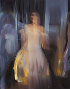 Andrew Hart Adler <i>Ode to Degas VIII,/i>(2015) Mixed media on canvas. 123 x 97cm. Photographer: Michael Hall.