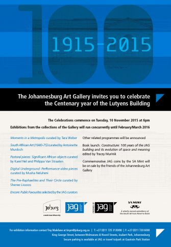 Johannesburg Art Gallery Centenary Celebrations