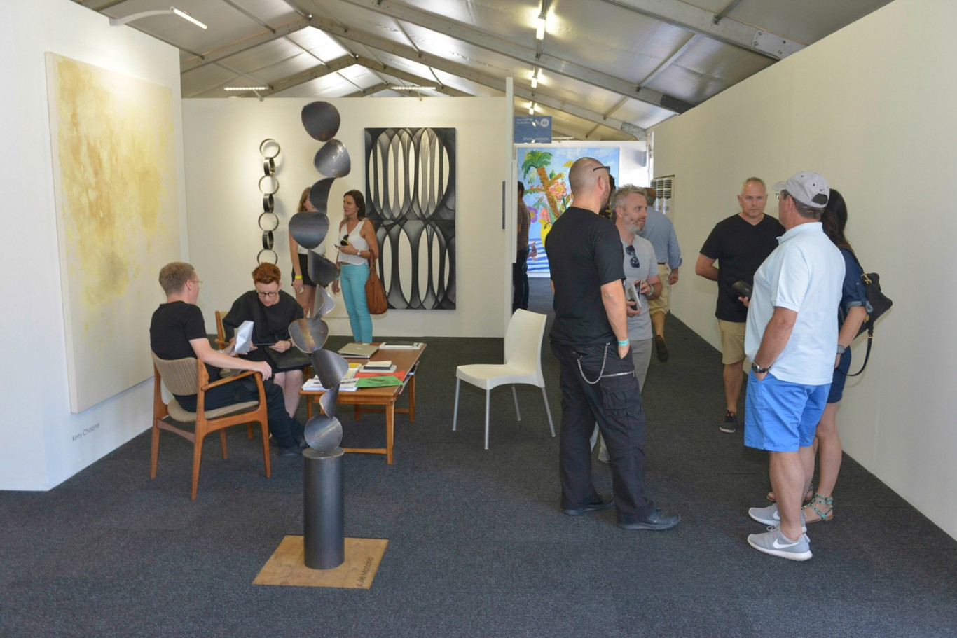 Installation view: Cape Town Art Fair 2015