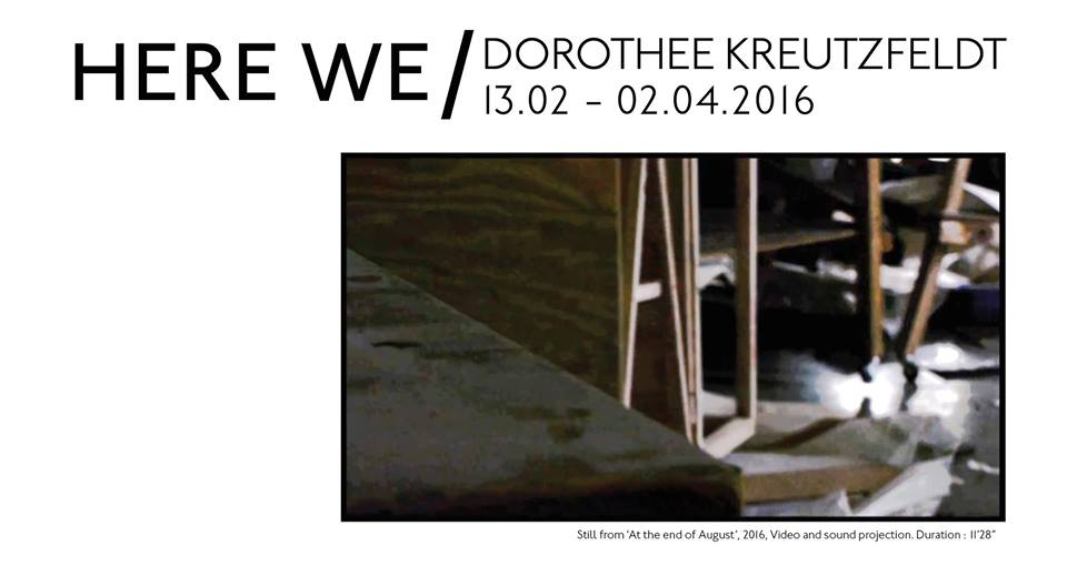 Dorothee Kreutzfeldt, Here We, 2016