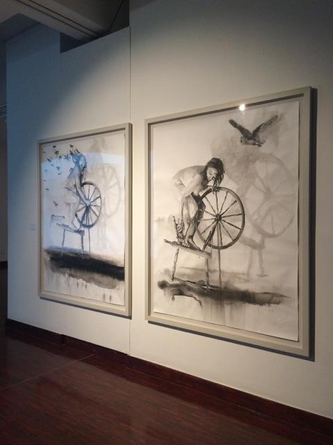 Minnette Vári at the Standard Bank Gallery