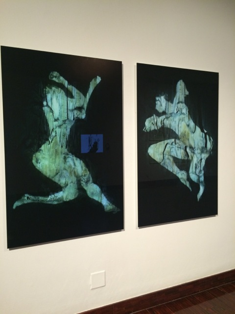 Minnette Vári at the Standard Bank Gallery