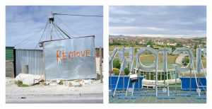 Svea Josephy Kosovo, Cape Town, South Africa (Remove) and Kosovo (Hotel Victory, Pristina), 2010. Photographs
