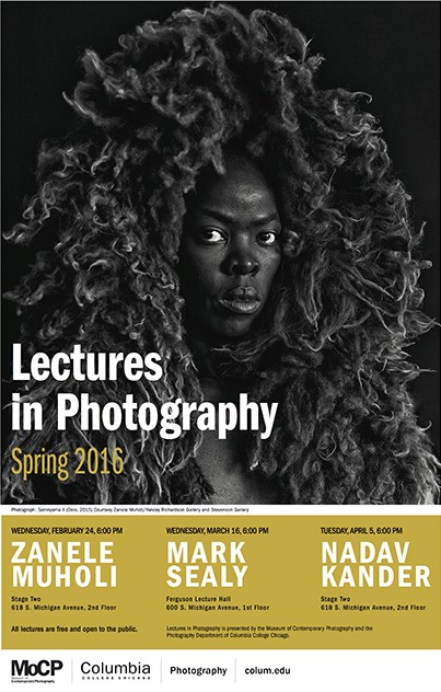 Zanele Muholi, Lectures in Photography, 2016