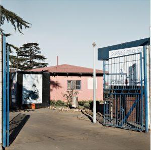 Jabulani Dhlamini, Old Police Station, Rooistena, Sharpeville, 2015. Pigment inks on fiber paper, 60 x 60 cm