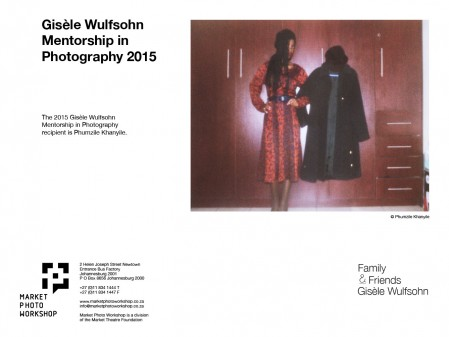 2015 Gisèle Wulfsohn Mentorship in Photography Recipient at the Market Photo Workshop