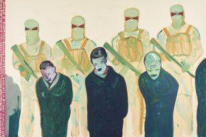 Carla Busittil Choice Click Bait, 2015 Oil on canvas