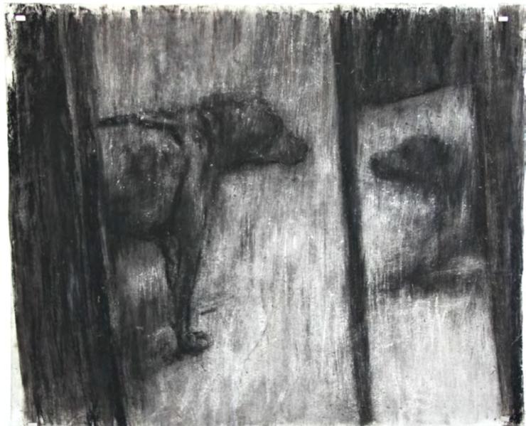 Gory Impasto: Johann Louw's 'Loog'