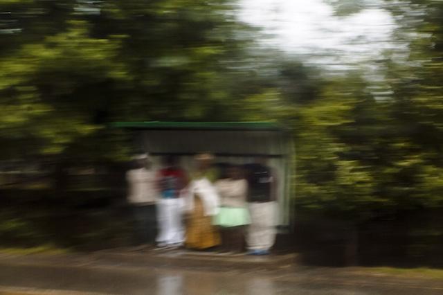 Brett Rubin. Bus Shelter, KwaZulu Natal. 2013