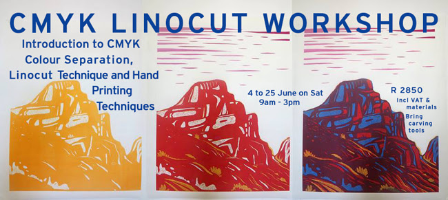 Warren Editions | CMYK Linocut Workshop