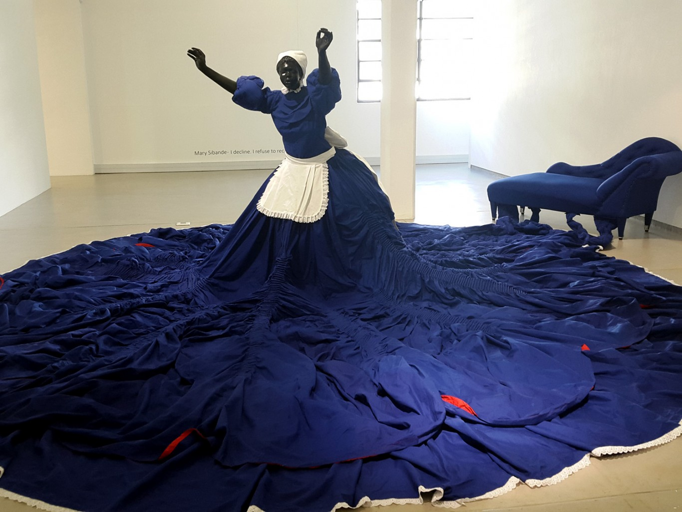 Mary Sibande at Gallery MOMO