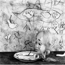 Roger Ballen <i> Sipping</i>, 2011. Archival pigment print, 60 x 60 cm