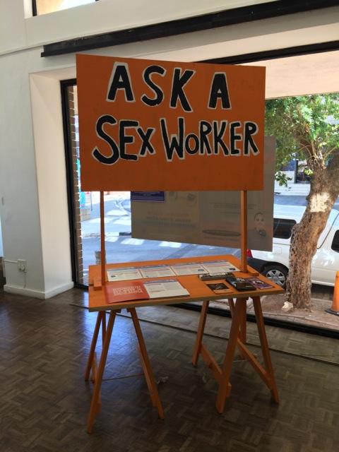 Simon Gush, Sonke Gender Justice, Sisonke Sex Workers Movement and SWEAT at Stevenson