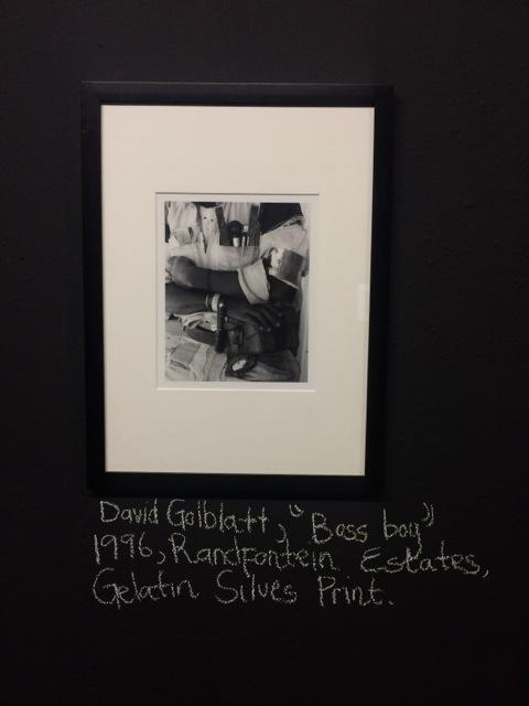 David Goldblatt in JAG Collection