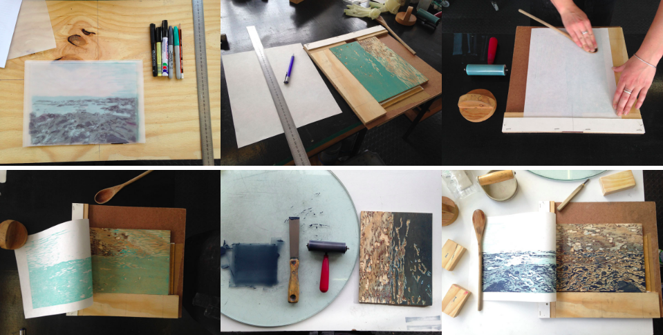 Warren Editions | Reductive Woodcut Workshop