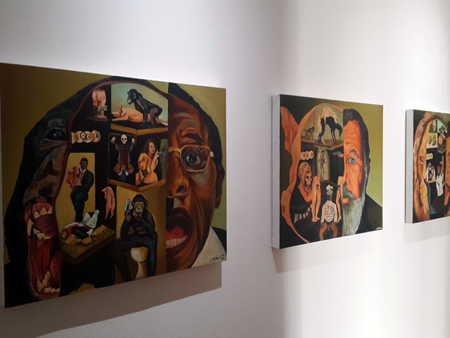 Ayanda Mabula at Michaelis Galleries
